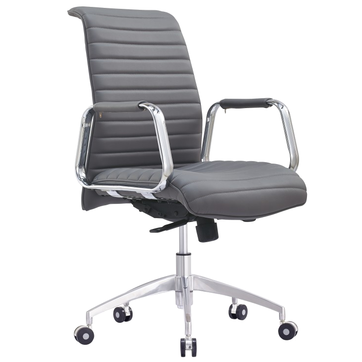 Call To Order Oxford Gray Modern Office Chair