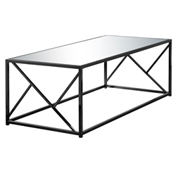 Ozark Modern Black + Mirror Coffee Table