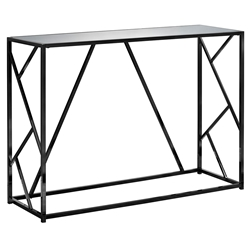 Ozark Modern Black + Mirror Console Table