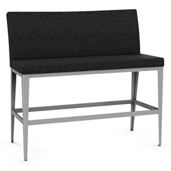 Pablo Modern Bar Height Bench by Amisco