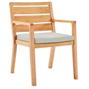 Palisades Modern Outdoor Karri Wood Dining Chair