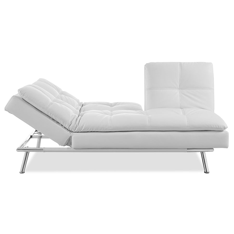 ... Palisades Modern Sleeper Sofa - Chaise Lounge ...  sc 1 st  Eurway : sleeper couch with chaise - Sectionals, Sofas & Couches