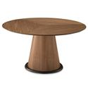 Palmero Walnut Modern Dining Table