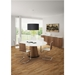 Palmero Walnut Contemporary Dining Table