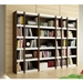 Panama 28 Inch Tobacco and White Bookcases