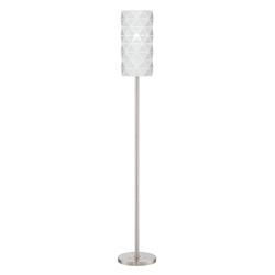 Panda Modern Brushed Nickel Floor Lamp