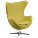 Paradigm Lounge Chair in Citron Wool