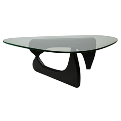 Modern Glass Coffee Tables - Paris Cocktail Table