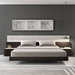 Pasadena Modern White Bedroom Collection