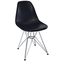 Pasadena Black Modern Side Chair