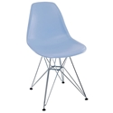 Pasadena Blue Modern Side Chair
