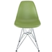 Pasadena Green Contemporary Side Chair