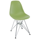 Pasadena Green Modern Side Chair