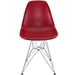 Pasadena Red Contemporary Side Chair