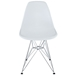 Pasadena White Contemporary Side Chair