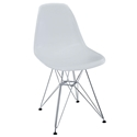 Pasadena White Modern Side Chair