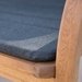 Pascal Modern Outdoor Chair - Seat Detail