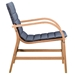 Pascal Modern Outdoor Chair - Side View