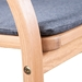 Pascal Modern Outdoor Chair - Arm Detail