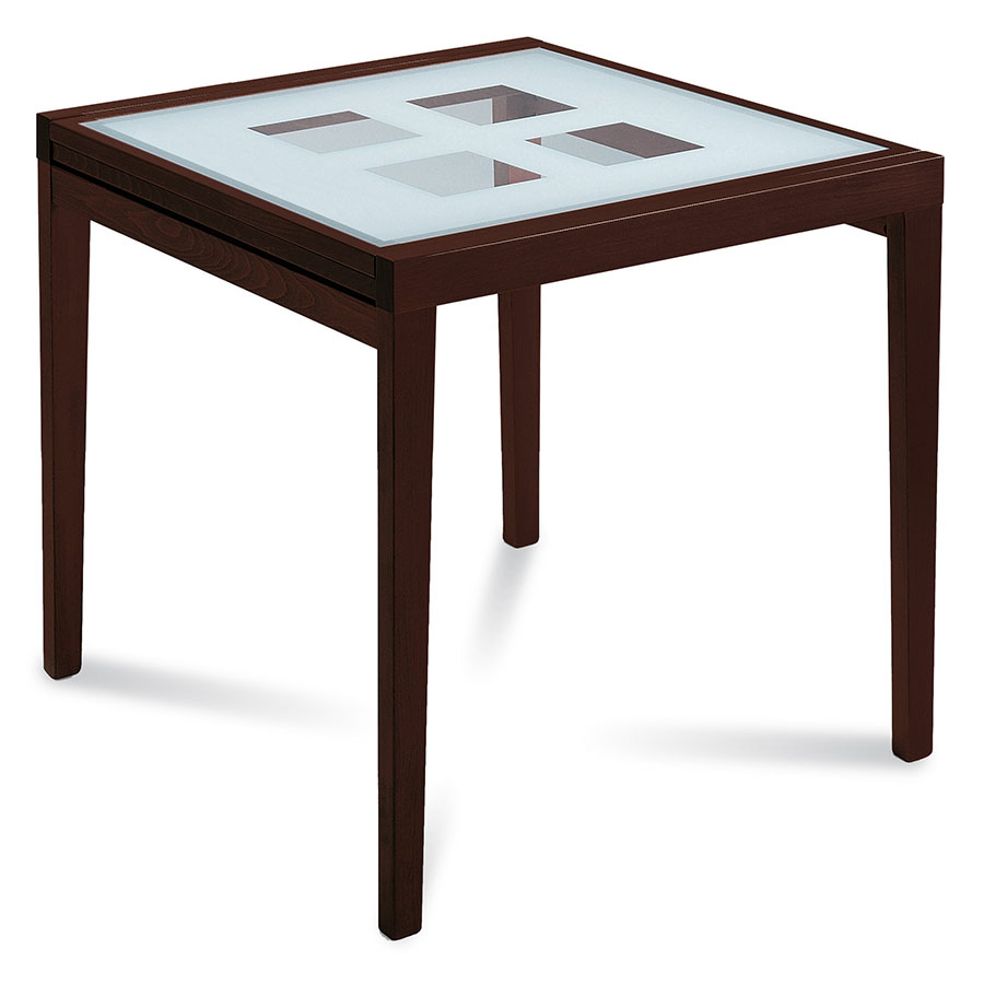 Patrice Espresso Modern Extension Table