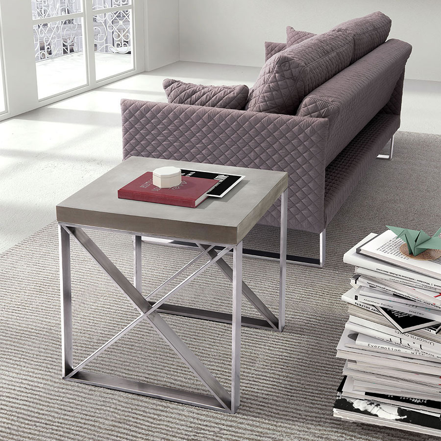 Paz Contemporary End Table