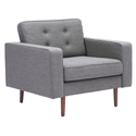 Pekko Gray Modern Lounge Chair