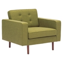 Pekko Green Modern Lounge Chair