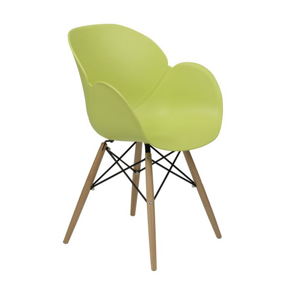 Perry Modern Green Arm Chair