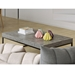 Petra Rectangular Contemporary Coffee Table Room