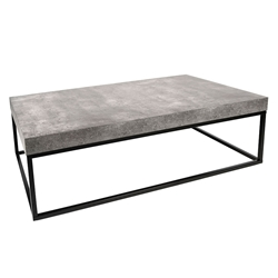 Petra Rectangular Contemporary Coffee Table by TemaHome