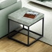 Petra Contemporary End Table Room
