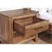 Petri Modern Nightstand - Open Drawer