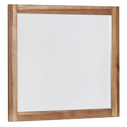 Petri Rustic Contemporary Wall Mirror