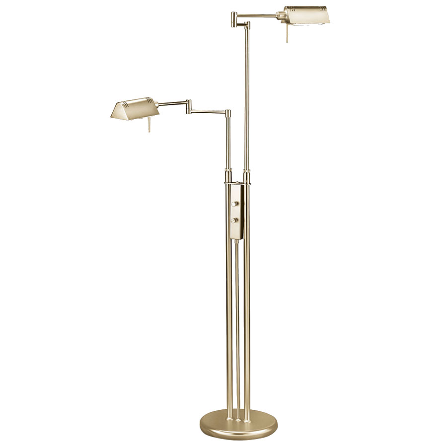 Modern floor lamps pharma brass double floor lamp eurway call to order phyllis antique brass modern double floor lamp aloadofball