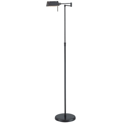 Phyllis Dark Bronze Modern Industrial Floor Lamp