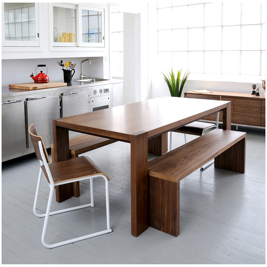 ... Plank Bench And Dining Table Collection By Gus Modern ...