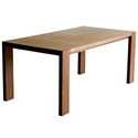 Plank Contemporary Table by Gus Modern in Walnut