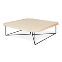 Gus* Modern Porter Contemporary Blonde Ash Square Coffee Table
