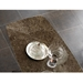 Pezzan Portland Emperador Marble Ceramic Top Dining Table