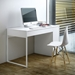 Prado White Contemporary Desk Room