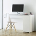Prado White Contemporary Desk Room Two