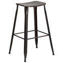 Premier Distressed Copper Indoor Outdoor Bar Stool