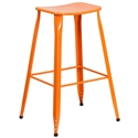 Premier Orange Indoor Outdoor Bar Stool
