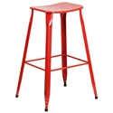Premier Red Indoor Outdoor Bar Stool