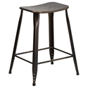 Premier Distressed Copper Indoor Outdoor Counter Stool