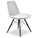 Prosper Modern Classic Dining Chair in White