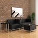 Quest Black Modern Seating Group