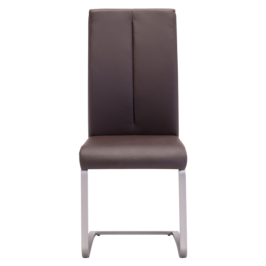 Radka Brown Contemporary Dining Chair