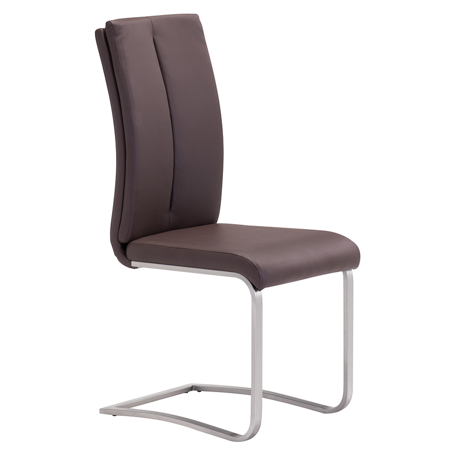 Radka Brown Modern Dining Chair