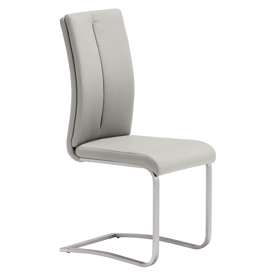 Radka Taupe Modern Dining Chair